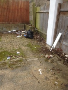 Garden Clearance Swindon Before